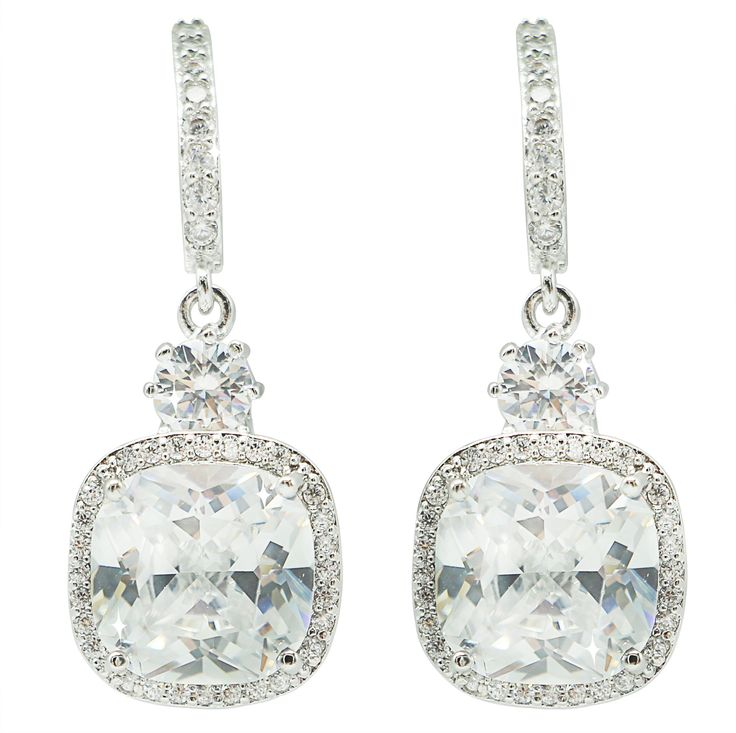 Elegance and glamour Cubic Zirconia Earrings !! shinning everywhere!! love it!