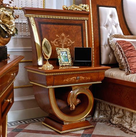 Europa Italian Furniture - Luxurious Italian Bedroom Furniture Riva Bedroom