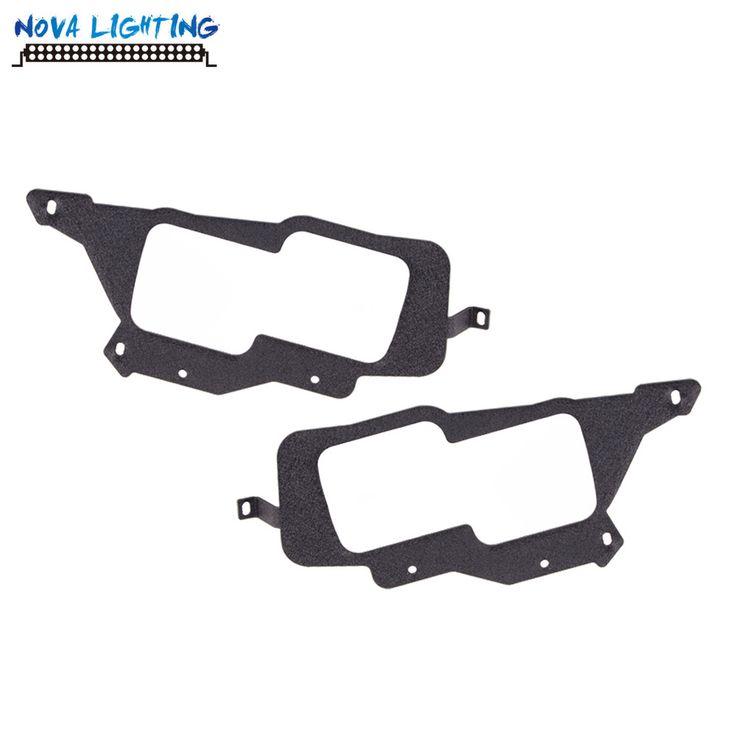 LED Light Bar Mounting Bracket 1 Pair LED Work Light Bracket For Polaris RZR XP 1000