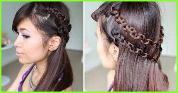 19 beliebte Prom Frisuren für Mädchen mit mittlerer Länge Haar – Frisuren Haar