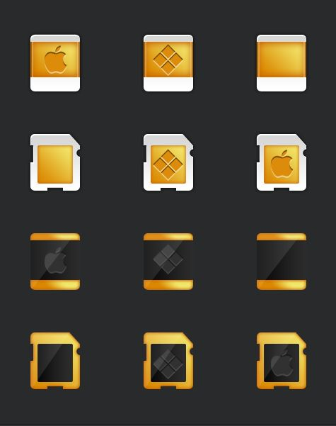 Icons on Behance