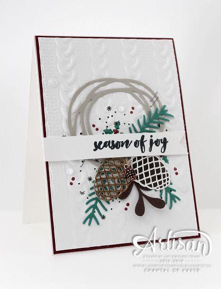 Love for Stamping: 'Season of Joy' Koffie & Kaart