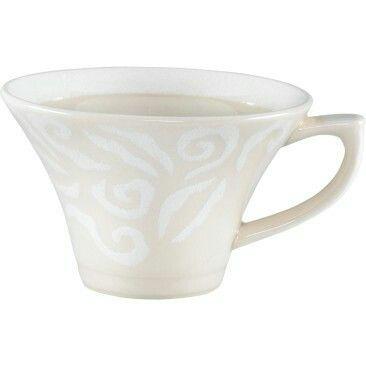 Vanilja kahvikuppi