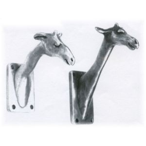 Kids room hooks rosalie sherman designs giraffe robe and for Kids room hooks