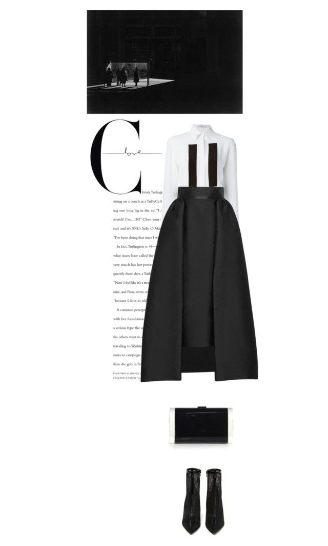 """Hope"" by mirary ❤ liked on Polyvore featuring Givenchy, Merchant Archive, Edie Parker and Jeffrey Campbell"