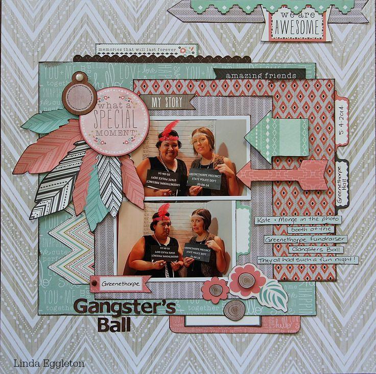 Kaisercraft - Bow & Arrow - Linda Eggleton