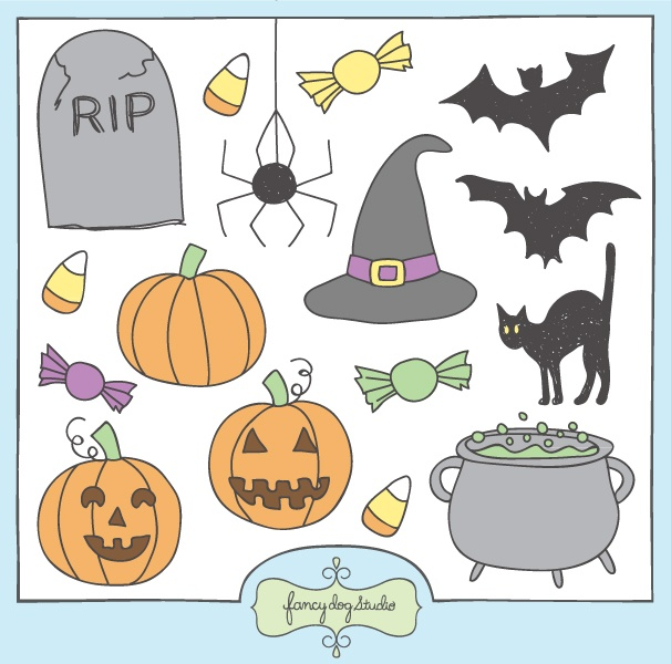 halloween clipart invitations - photo #39