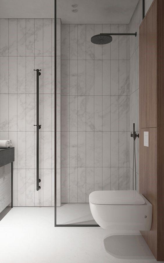 요즘 우리집에서 가장 미니멀한 공간은 '욕실' 욕실에 있는 클렌징 제품은 시드물 카카듀 클렌저 + 시드물 ...