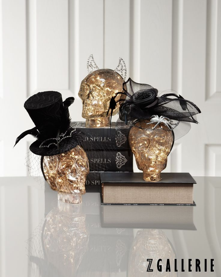 dont have a halloween costume just add a headband and youre on your way to a spooky chic look shop our haute halloween decor and save through