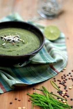 Lentil and Kale Cream with Zucchini
