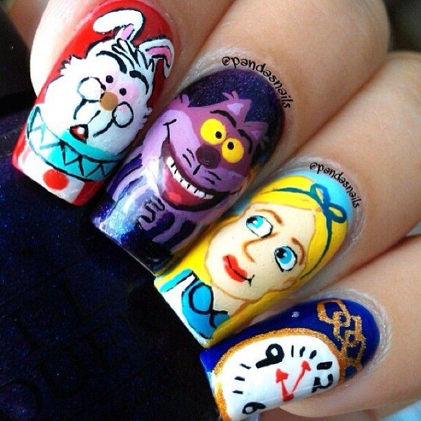 Instagram photo by  pandasnails #nail #nails #nailart