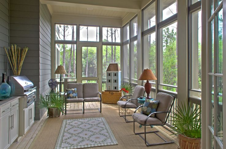 57 best images about unique screened back porches on for Enclosed back porch ideas