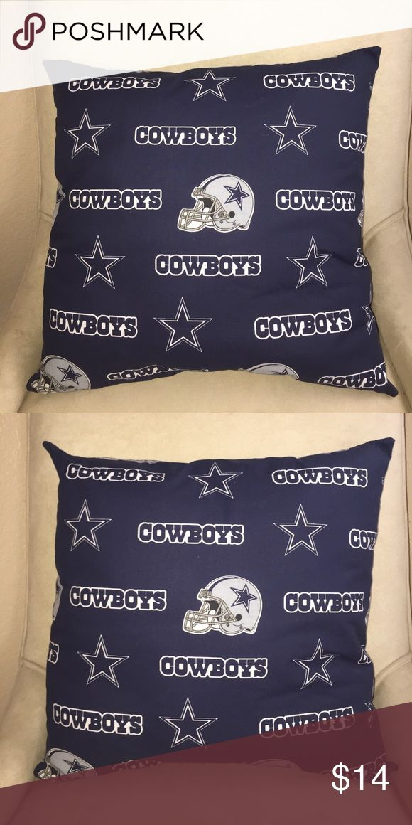 NFL DALLAS COWBOYS PILLOWS Licensed NFL DALLAS COWBOYS PILLOWS. Size 17x17. $14 each or 2 for $24. PSKC Other