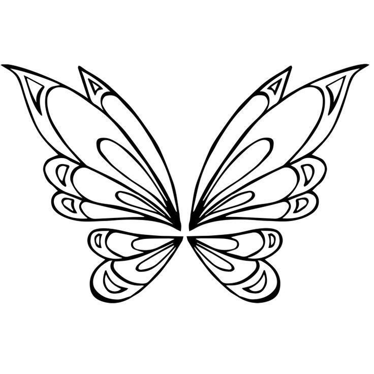 Wings Temporary Tattoos #697