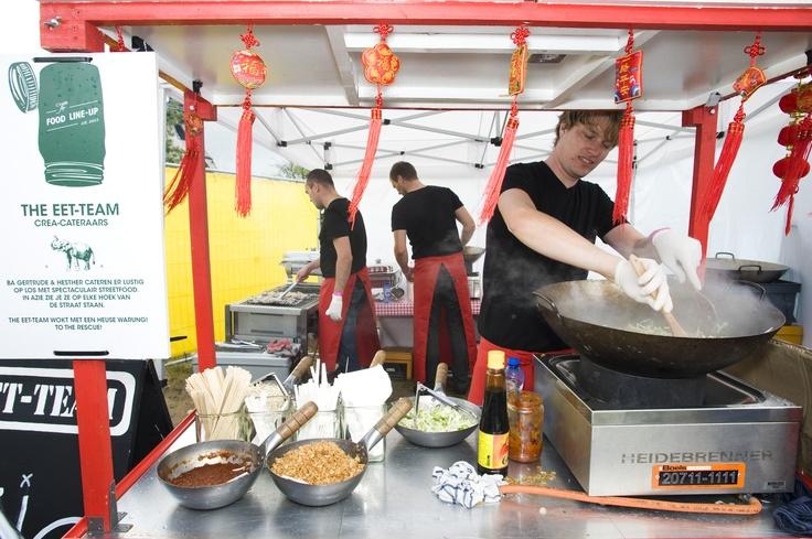 Nasi met Garnalen wokken, laat dat maar over aan The Eet-Team ©