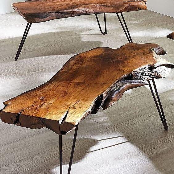 Coffee tables #sehpa #ahsapsehpa #ahsapmobilya #dogalmobilya #evdekorasyonu