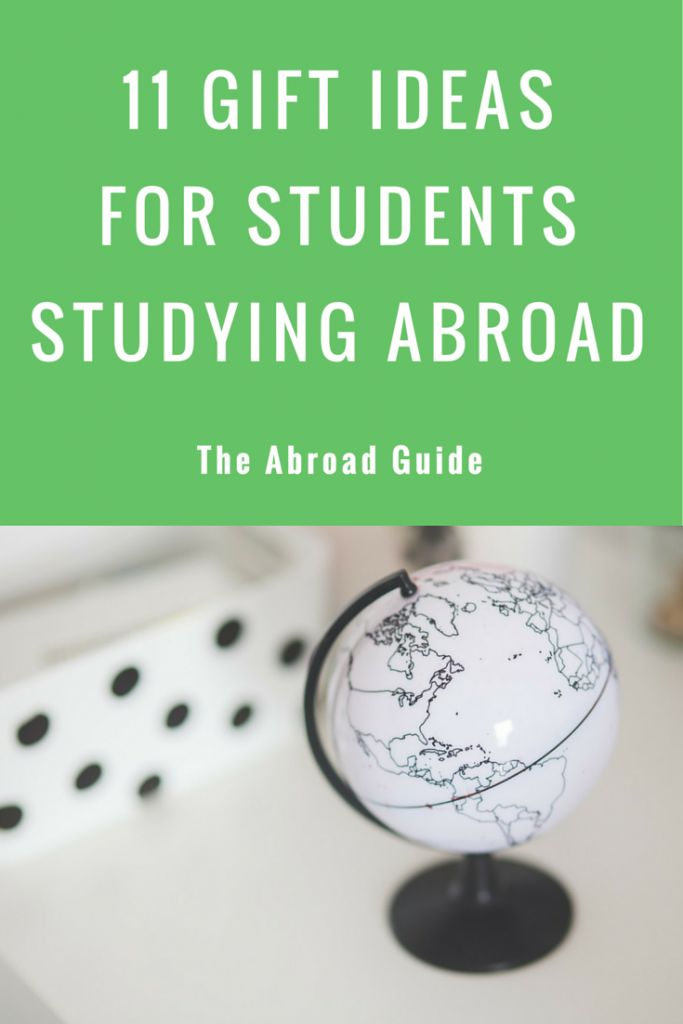 11 Gift Ideas for Students Studying Abroad. What to get someone who's about to study abroad.
