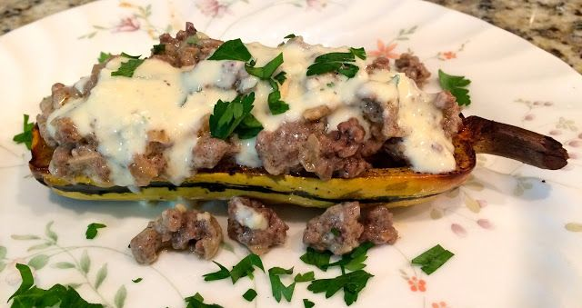 Plated 18th Delivery Review, Beef Moussaka Stuffed Delicata Squash