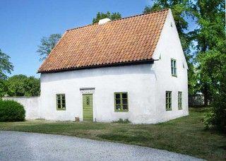 Typiskt Gotlandshus - Bilder Gotland, Vamlingbo Prästgård, flygelbyggnad, Sverige