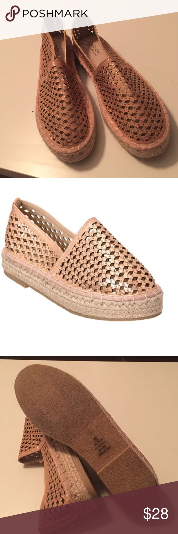 Catherine Malandrino platform espadrilles Catherine Malandrino espadrilles never used them,color rose gold . Catherine Malandrino Shoes Espadrilles