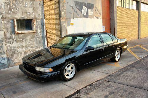 1996 IMPALA SS, Z06 LS6 SWAP, CUSTOM BLACK PRO TOURING HOTROD, US $16,995.00, image 1