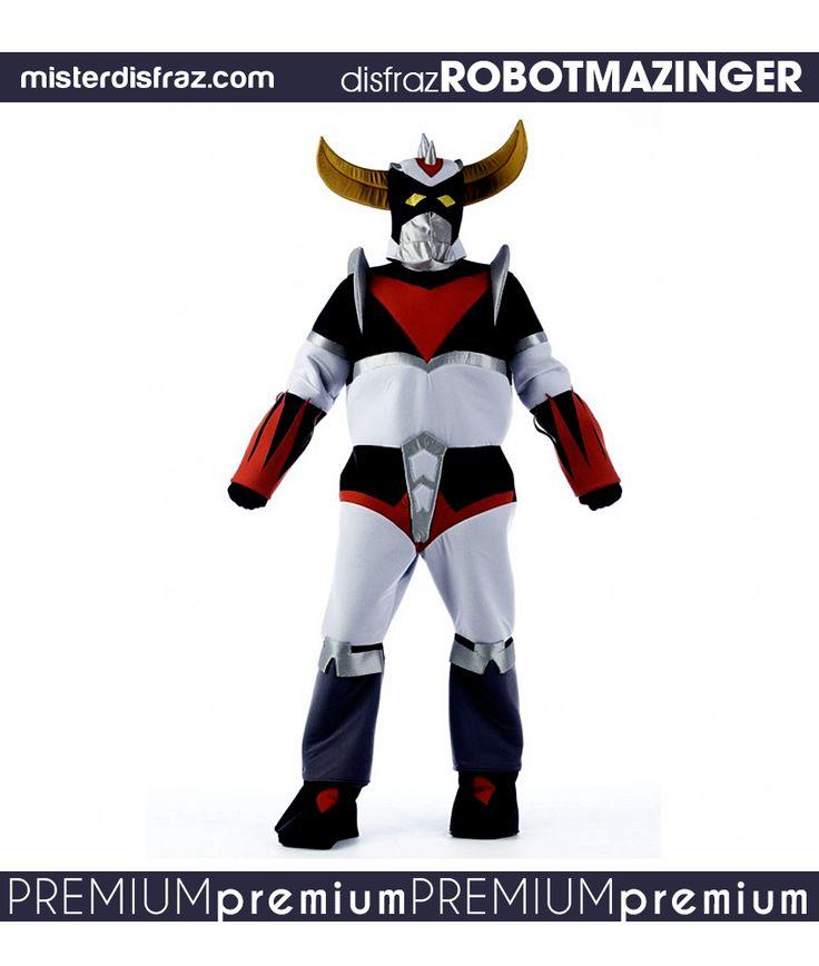 Disfraz de Robot Mazinger. Disfraz de Robot Mazinger, un emblemático disfraz de Robot para recordar a uno de los personajes más famosos de la historia de las series animadas. #disfraz #disfraces #disfracesoriginales #disfracesdivertidos #disfracescachondos #disfracesgraciosos #disfrazhombre #disfrazrobotmazinger #robotmazinger #carnaval #premium #disfracespremium #premiumoriginales #misterdisfraz