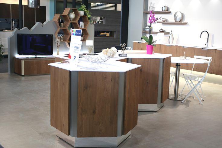 cuisine hexagonale, Hexagonal System, Pierre Furnemont Design #Cuisine #Kitchen #Hexagonal