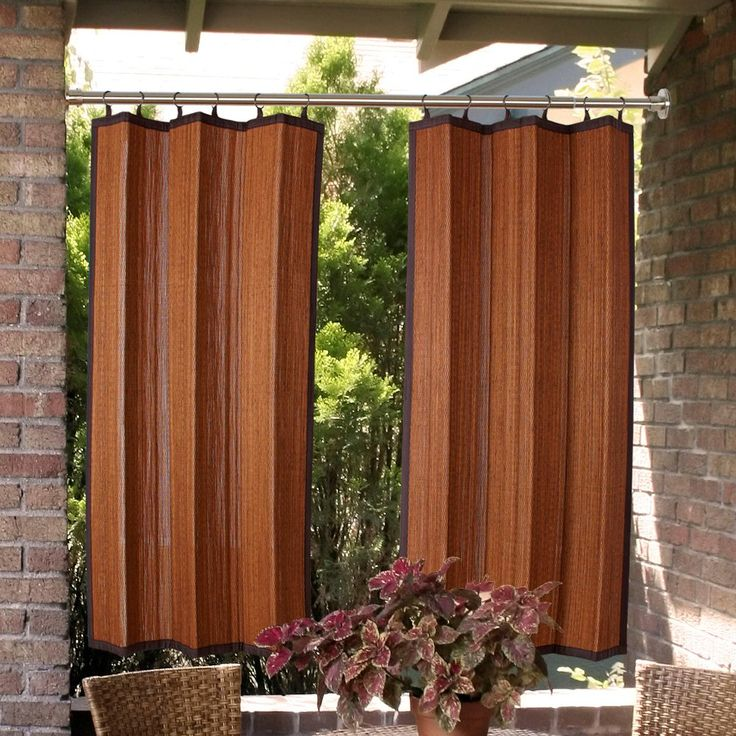 1000 Ideas About Outdoor Curtain Rods On Pinterest Outdoor Curtains Sunbrella Outdoor