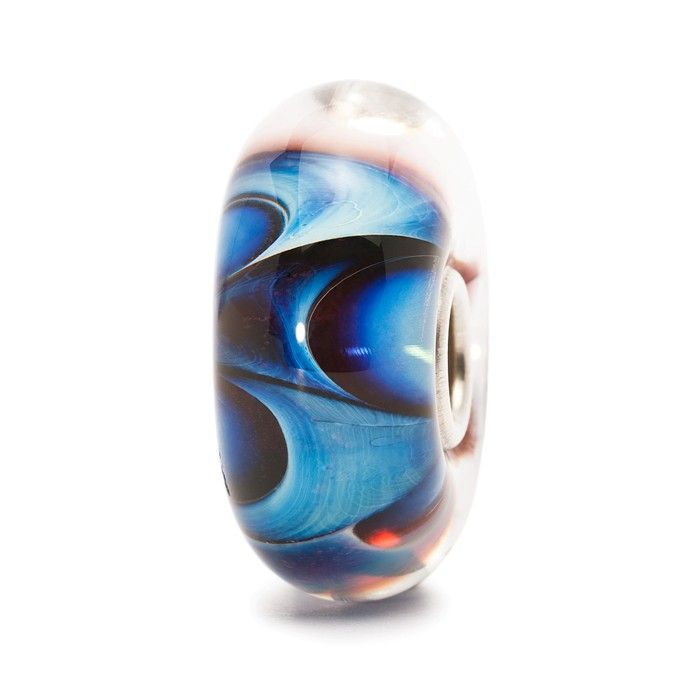 A romantic, sophisticated wave with depths and secrets. Every bead is different.