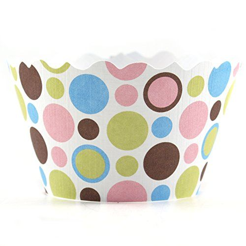 Bella Cupcake Couture Dorothy Polkadot Cupcake Wrapper Set of 12 >>> Read more  at the image link.