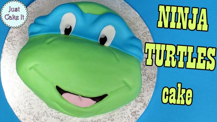 How to make Ninja Turtles cake / Jak zrobić tort Żółw Ninja