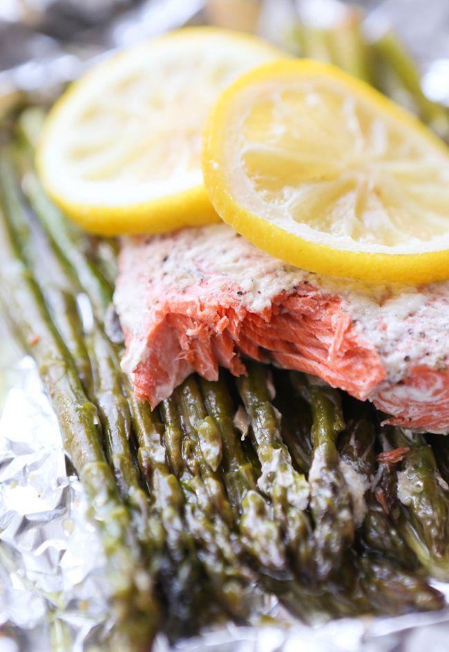 Pip & Ebby - Pip-Ebby - Parmesan Salmon and Asparagus inFoil
