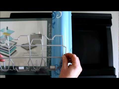 How to use Quickutz dies in your Sizzix Big Shot PRO machine. So easy to do! have fun.