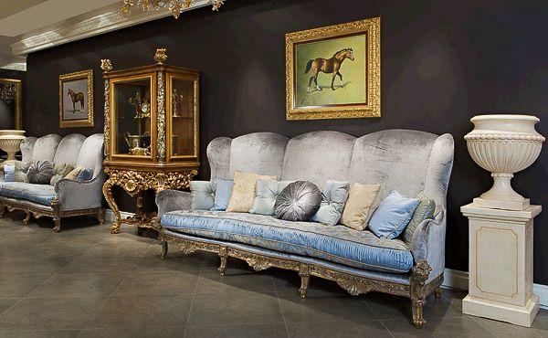 Зал итальянской мебели #interior #furniture