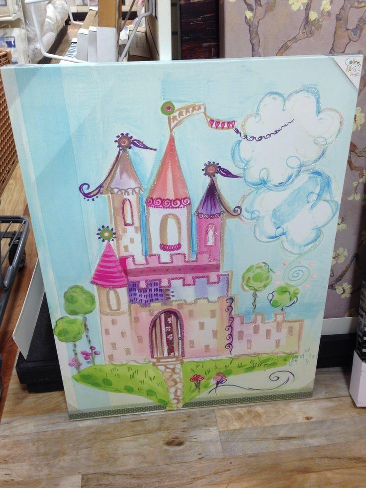 Castle Artwork For Playroom Colleen Karis Designs At