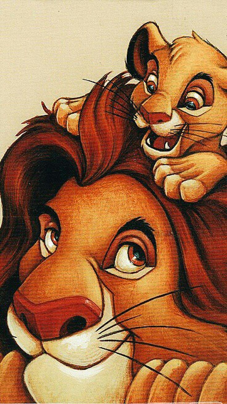 совсем король лев рисунок цветной если душа просит
