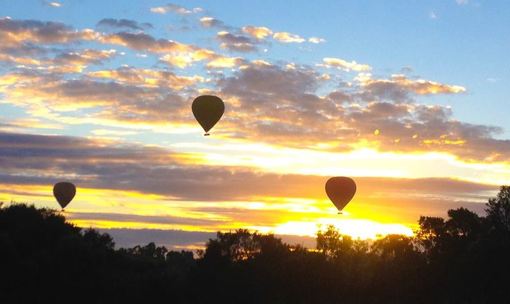 Hot Air Ballooning over the Atherton Tablelands in Australia