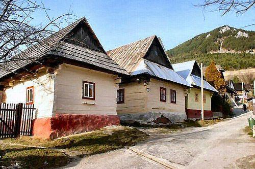 Slovakia- Vlkolínec - UNESCO pamiatka