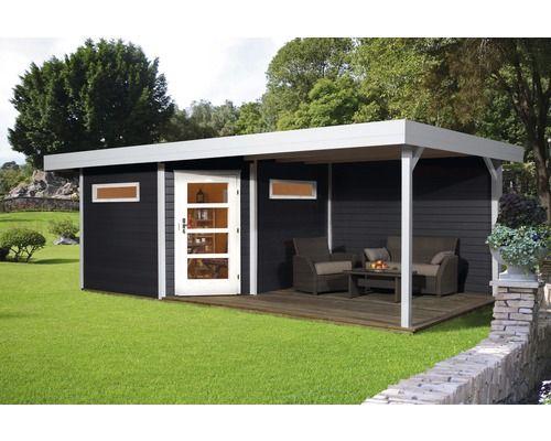 Lounge Haus weka Davos mit Lounge, 601 x 298 cm, anthrazit bei HORNBACH kaufen