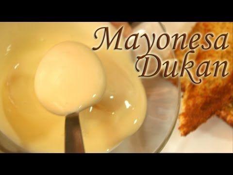 Mayonesa Dukan (Como la verdadera) - Dukan Mayonnaise - Receta Fase Ataque