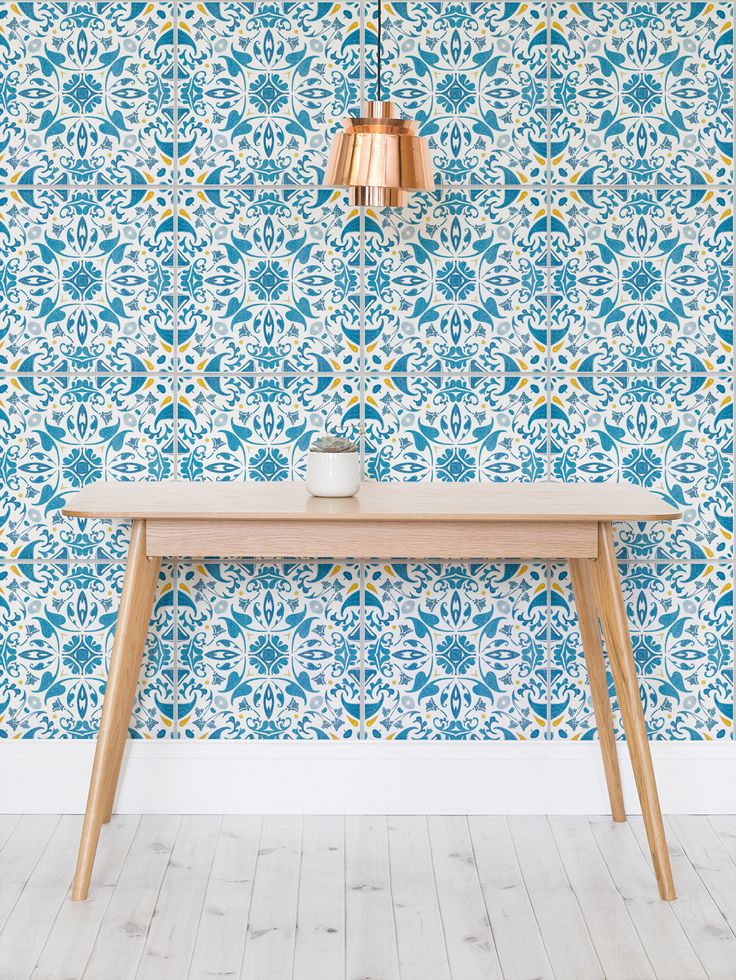 25 best ideas about tile wallpaper on pinterest for Textured kitchen wallpaper