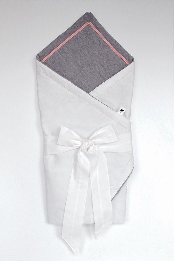 Ice Ice Baby pink swaddle, 80 x 80 cm, 100% cotton