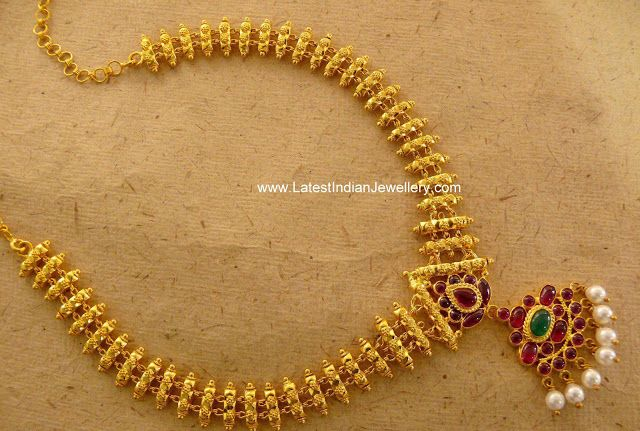 Temple Jewellery #necklace