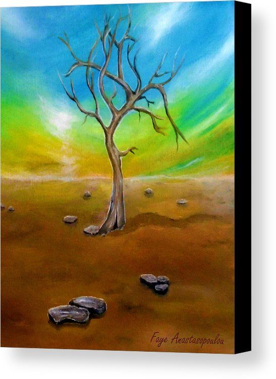 Bleak Solitude Canvas Print / Canvas Art by Faye Anastasopoulou