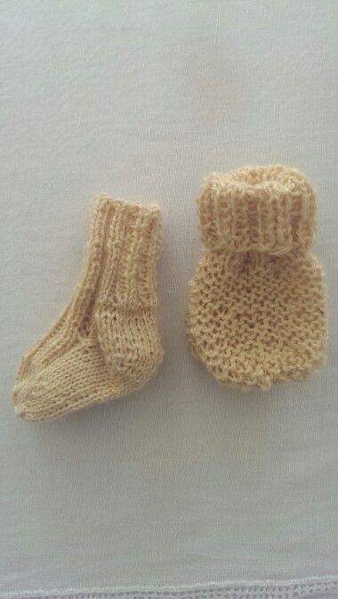 Baby knitting