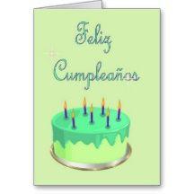 Birthday Cards In Spanish Feliz Cumpleanos | Happy Birthday In Spanish T-Shirts, Happy Birthday In Spanish Gifts ...