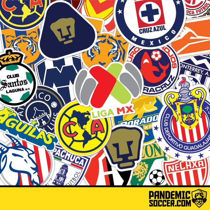 Mexico's Liga MX Stickers! These are full color Die Cut Stickers of your favorite Liga MX Teams like Chivas, America, Cruz Azul, Pumas, Tigres UANL, Santos Laguna, Toluca and many more. We offer FREE worldwide shipping. Shop Now!