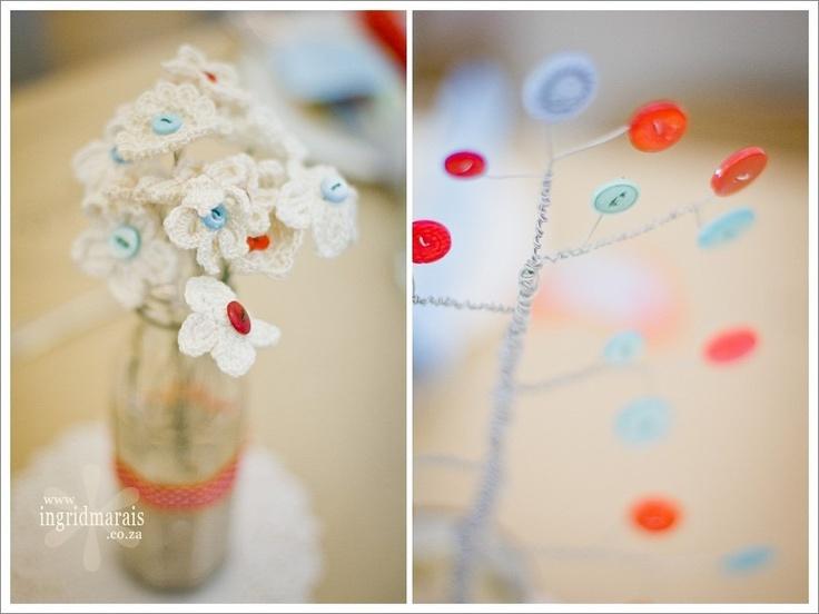 Our handmade wedding decor