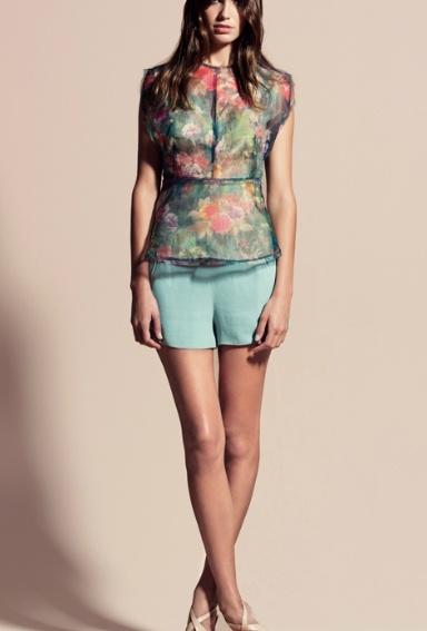 #blusa #sfera #flores #compraropa