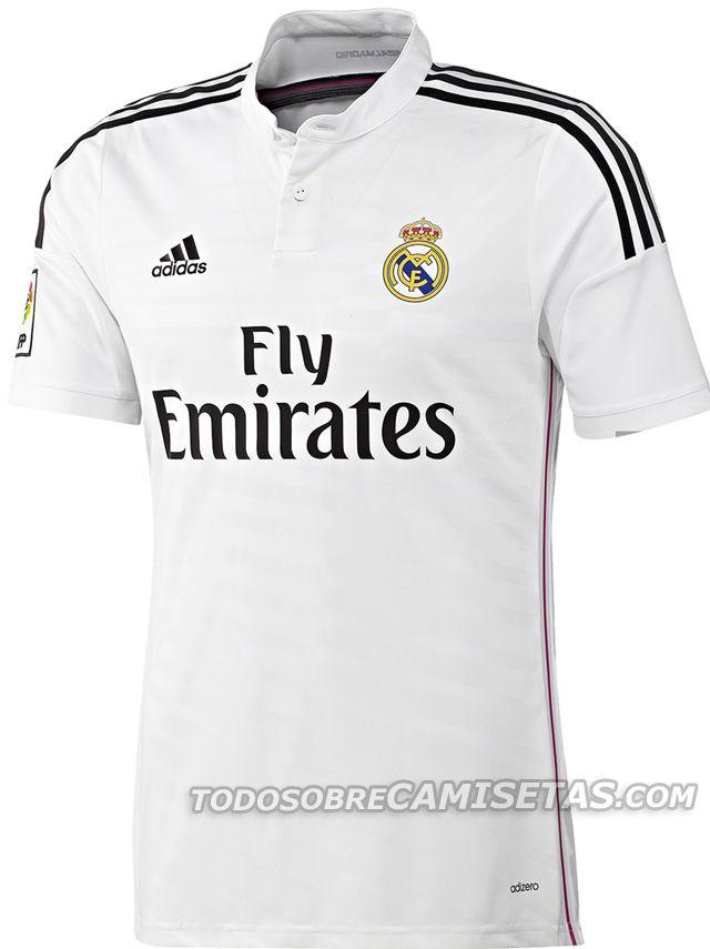 Uniformes do Real para esta temporada - http://colecaodecamisas.com/uniformes-real-madrid-temporada-2014-15/ #colecaodecamisas #Adidas, #Realmadrid